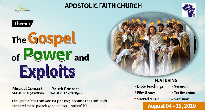 Apostolic Faith, West & Central Africa |